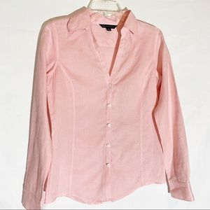 Brooks Brothers light pink button down blouse